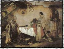 M. Aleš - Setkání Jiřího z Poděbrad s Matyášem Korvínem