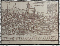 Kutná Hora - veduta od J. Willenberga (copyright Wikipedie)