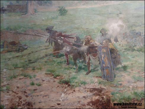 Praha – Maroldovo panorama bitvy u Lipan