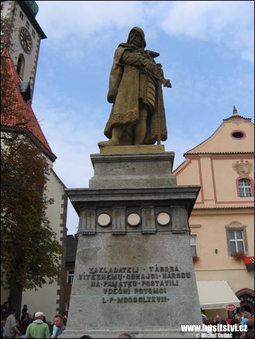Tábor – památník Jana Žižky
