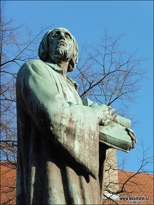 Chrudim – památník Jana Husa