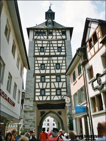 Konstanz (Kostnice, D) – Husova ulice