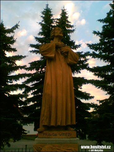 Katovice (u Strakonic) – památník Jana Husa