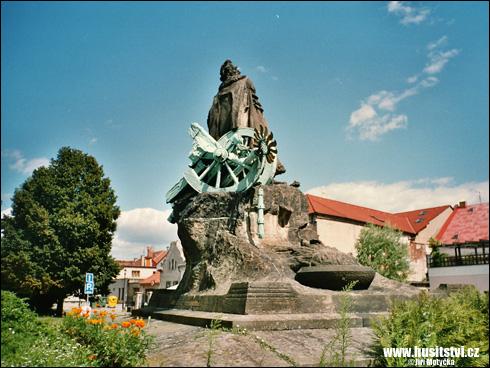 Český Brod – památník Prokopa Holého