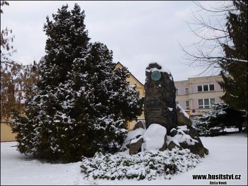Rokycany – památník Jana Žižky [foto: Dáša Nová, © www.husitstvi.cz]