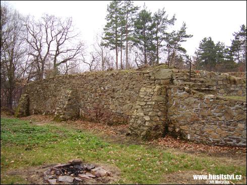 Sion – hrad, poslední útočiště Jana Roháče z Dubé
