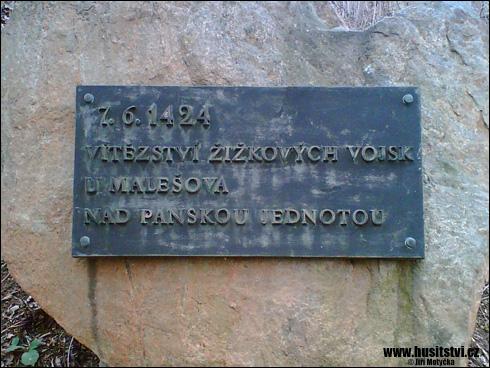 Malešov – památník slavné bitvy