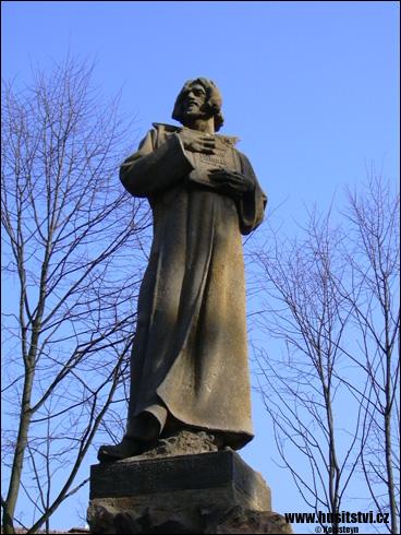 Železnice – památník Jana Husa