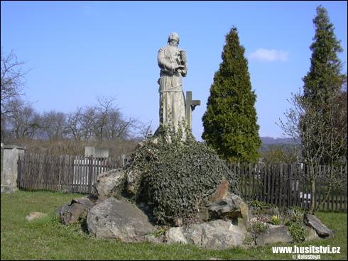 Soběraz – památník Jana Husa