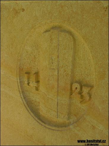 Hradec Králové – Žižkův památník umístěný v Žižkových sadech