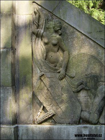 Hlinsko – památník Jana Husa