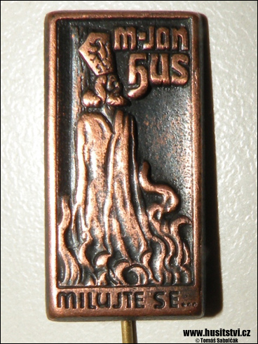 Odznak – M. Jan Hus, milujte se… (?)