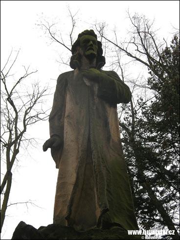 Kostelec nad Labem – památník Jana Husa