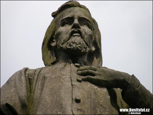 Nová Paka – památník Jana Husa