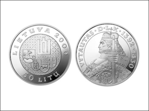 50 litas - Vitold, velkovévoda litevský (2000)