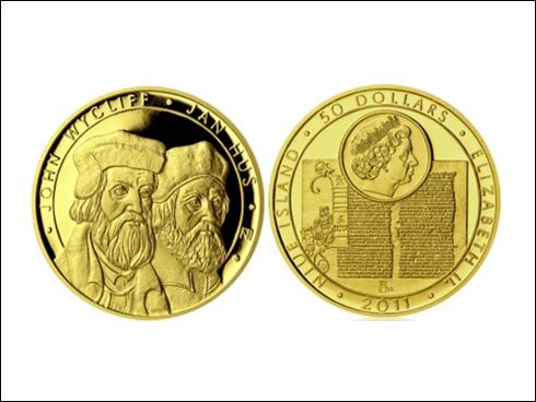 50 dollars – Jan Hus a John Wycliff (2011)