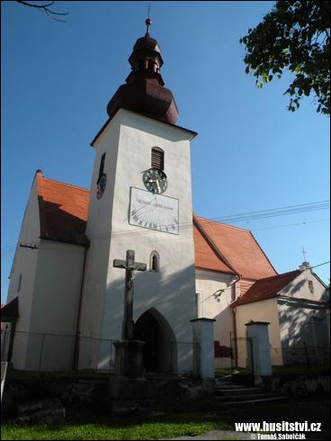 Střížov – místo, kde byl Jan Žižka pokřtěn