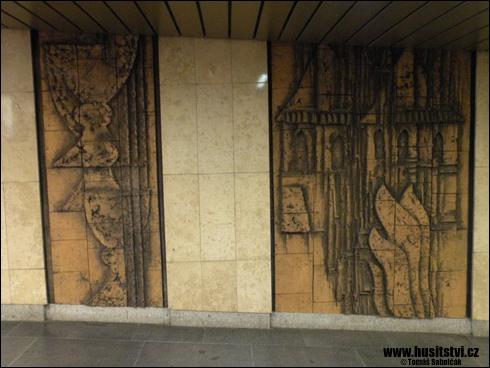 Praha – stanice metra Jiřího z Poděbrad