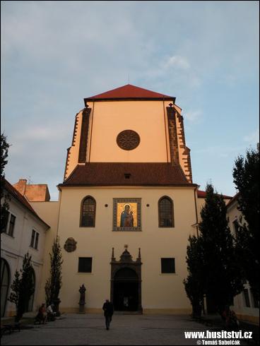 Praha – kostel Panny Marie Sněžné