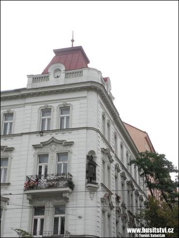 Praha – socha Jana Žižky na náměstí Jiřího z Poděbrad
