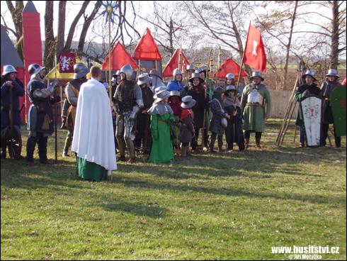 Rekonstrukce bitvy u Hradce Králové (Mokrovousy, 27.03.2010)