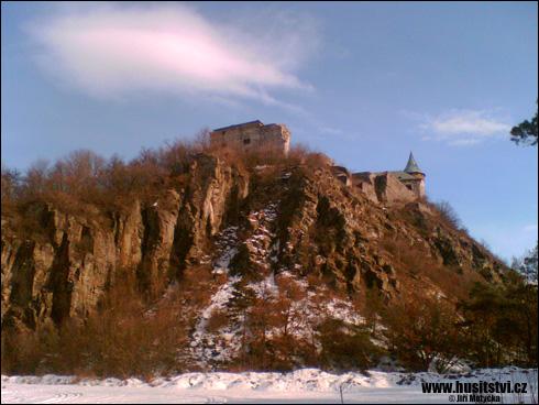 Kunětická hora – husitský hrad