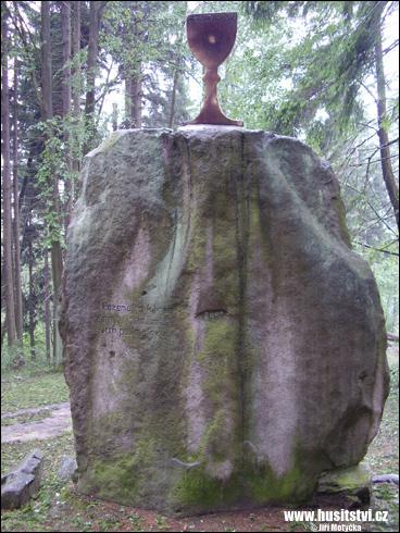 Horní Dubenky – rybník Bor, památník husitské bitvy
