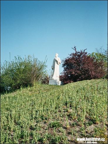 Plzeň (Doubravka) – pomník Jana Husa