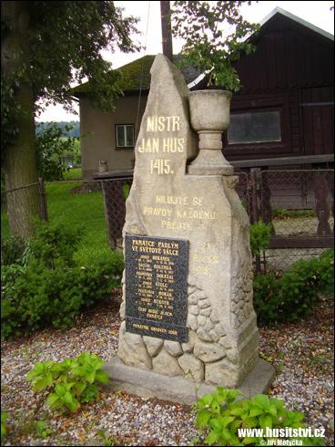 Bezděkov (Krásná Hora) – památník Jana Husa