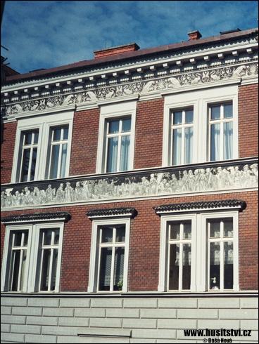 Plzeň – dům v Tovární ulici