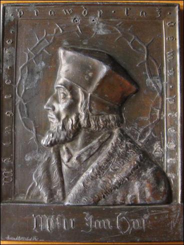 Plaketa Jan Hus (?)