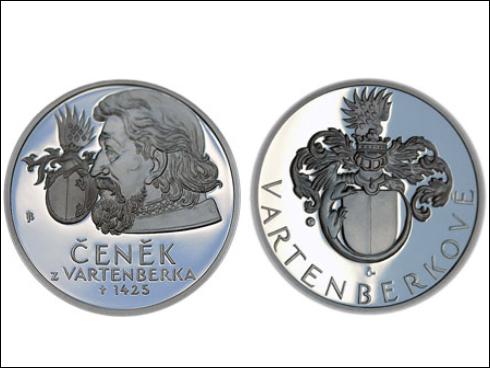 Medaile – Čeněk z Vartenberka (2012)