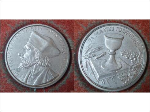 Medaile – Jan Hus, Na památku konfirmace