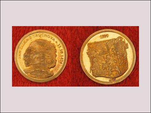 Medailon – Jan Žižka z Trocnova 11.10.1424 (1999)