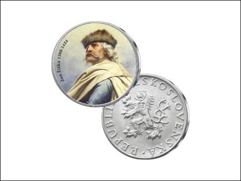 Medaile - Jan Žižka 1316-1420