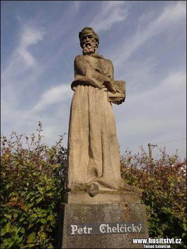 Chelčice - památník Petra Chelčického