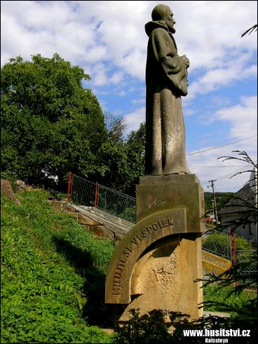 Libošovice - památník Jana Husa