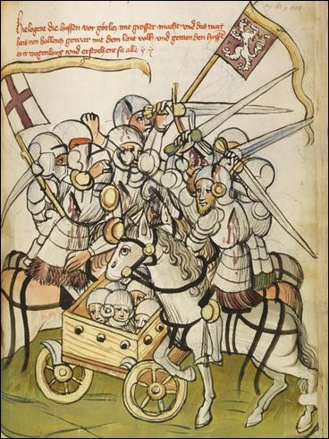 Pamětihodnosti k dějinám doby císaře Zikmunda (1. pol. 15. stol.) - Bitva u Chrastavy 1428