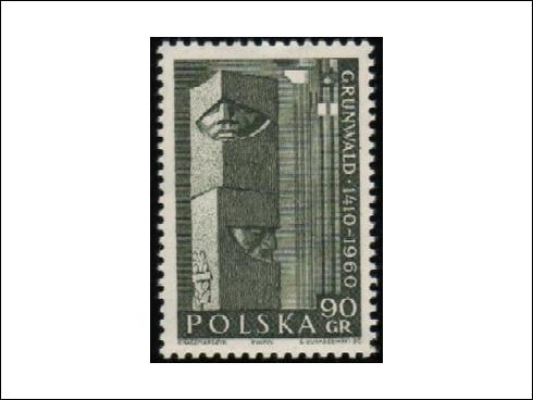 90 gr - 550. výročí bitvy u Grunwaldu (1960)