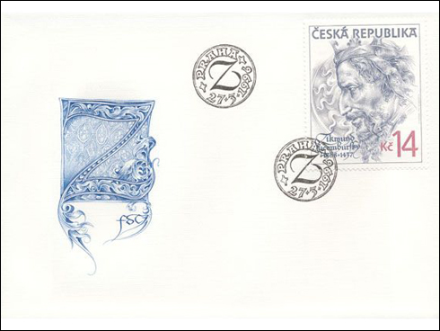 FDC – Lucemburská dynastie (1996)