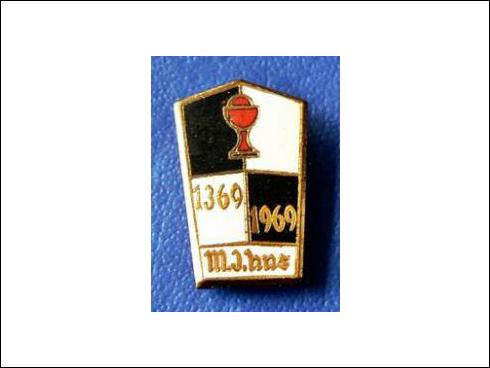 Odznak – M. Jan Hus 1369-1969 (1969)