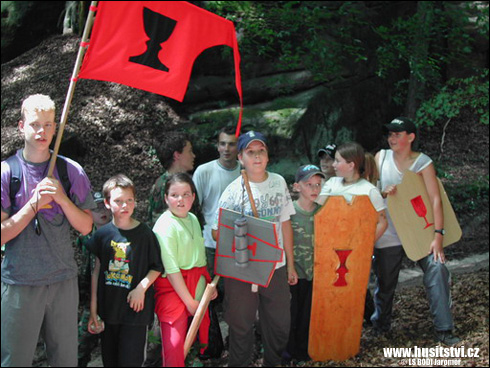 Dětský letní tábor koncipovaný v duchu doby husitské (2004)