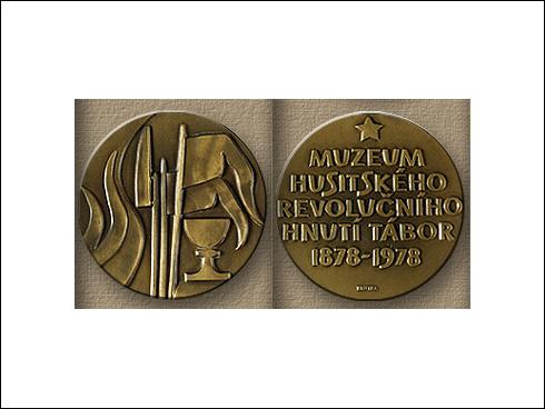 Medaile – 100. výročí založení táborského muzea 1878-1978 (1978)