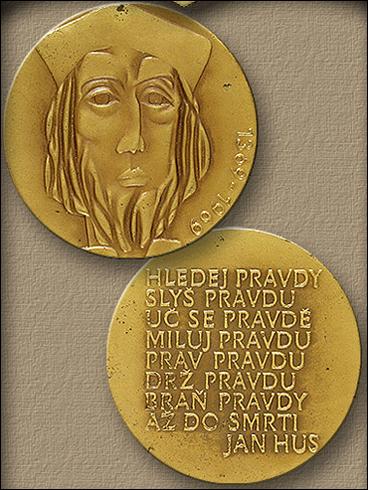 Medaile – 600. výročí narození mistra Jana Husa 1369-1969 (1969)