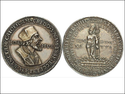 Krušnohorská medaile Jan Hus ?