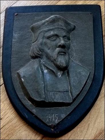Plaketa – Jan Hus 1415 (?)