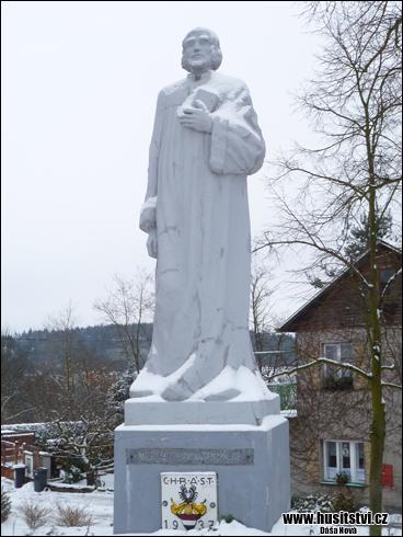 Chrást u Plzně - památník Jana Husa