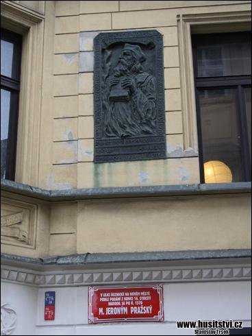 Praha (Řeznická ul.) - dům M. Jeronýma Pražského