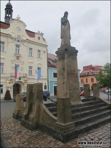 Beroun - Husův pomník