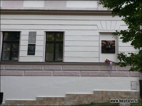 Plzeň – Bolevec - pamětní deska Jana Husa